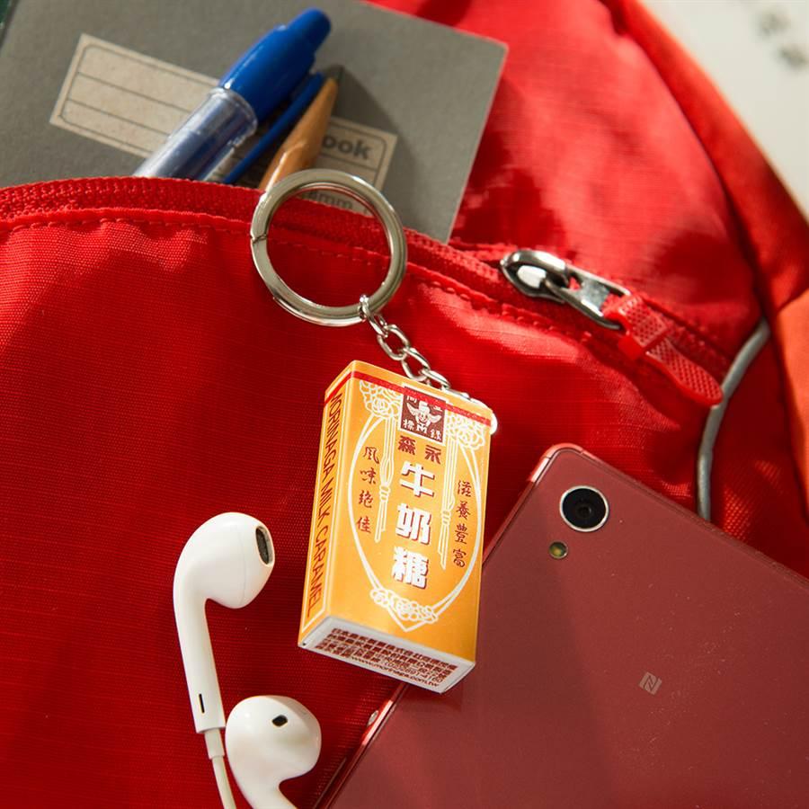 悠遊卡公司推出森永牛奶糖3D造型悠遊卡,限時開放預購。(悠遊卡公司提供/黃慧雯台北傳真)