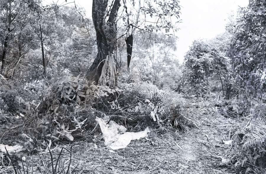 黃女被棄屍的新店山區地點「界嶺」,是深山野嶺、平常人煙罕至。(中時資料照)