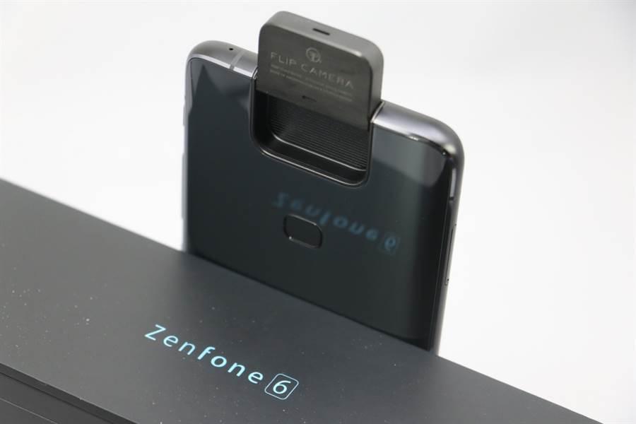 ZenFone 6的接班—ZenFone 7即將來到。(黃慧雯攝)