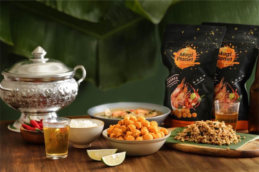 這夏泰辣了! 「泰式酸辣爆米花」最開胃的零嘴。(圖/星球工坊提供)