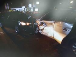 駕駛搶快1秒連撞2車 回家路更遠了