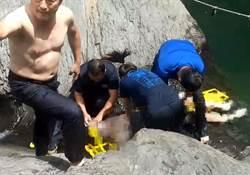 屏科大澳門學生武潭瀑布戲水 大石旁救起已溺斃
