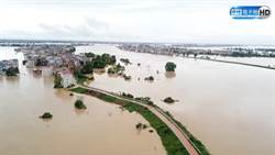 長江流域洪水災情嚴重 江西鄱陽湖水位破歷史紀錄