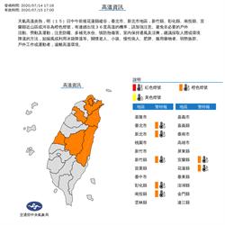 明熱帶性低氣壓不排除登陸台灣 氣象局曝最接近時段