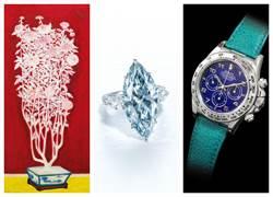 《從拍賣會看趨勢》 常玉畫作、藍鑽和勞力士腕表  三大熱門拍品