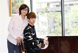 林隆璇慶56歲生日收驚喜禮 揪25歲兒同台嗨唱