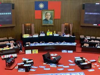 藍委揚言占領主席台到周五 綠委暫不跟進、不清場