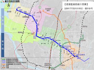 「台中捷運藍線綜合規劃公聽會」7/15起連辦三場