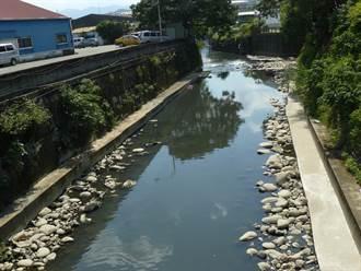 鶯歌溪河寬過窄致淹水 水利署斥資近3千萬拓寬