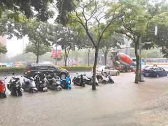 北大學成路 遇大雨不再淹水