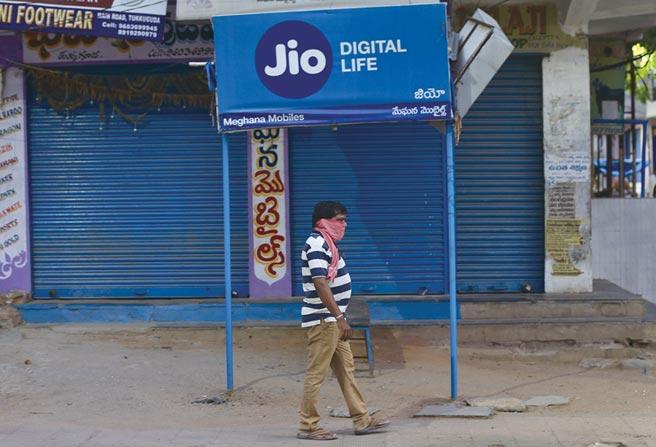 高通將協助Jio Platforms「為印度客戶推出先進的5G基礎建設與服務。」圖/美聯社