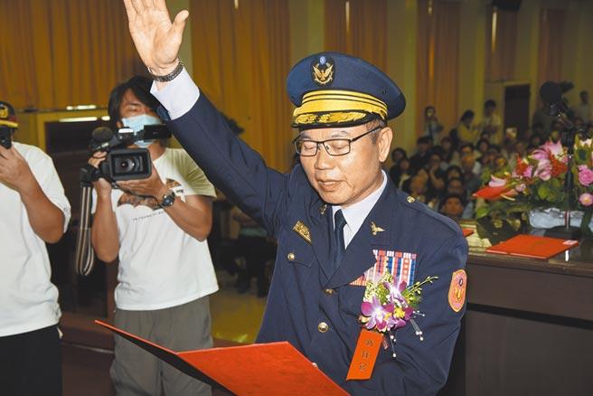 面對行政院長蘇貞昌究責拔官,高雄市警察局長李永癸也遭撤換。(本報資料照片)