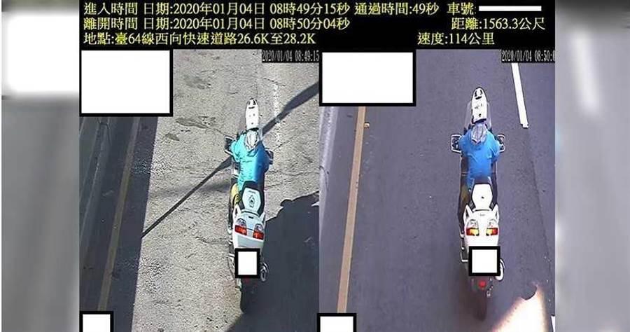 這兩年國內先後設立區間測速稱科技執法,但彰化西濱路段設置才一個多月就被抓包儀器出錯,許多經過該路段的民眾車速動不動就破百。(圖/報系資料照)