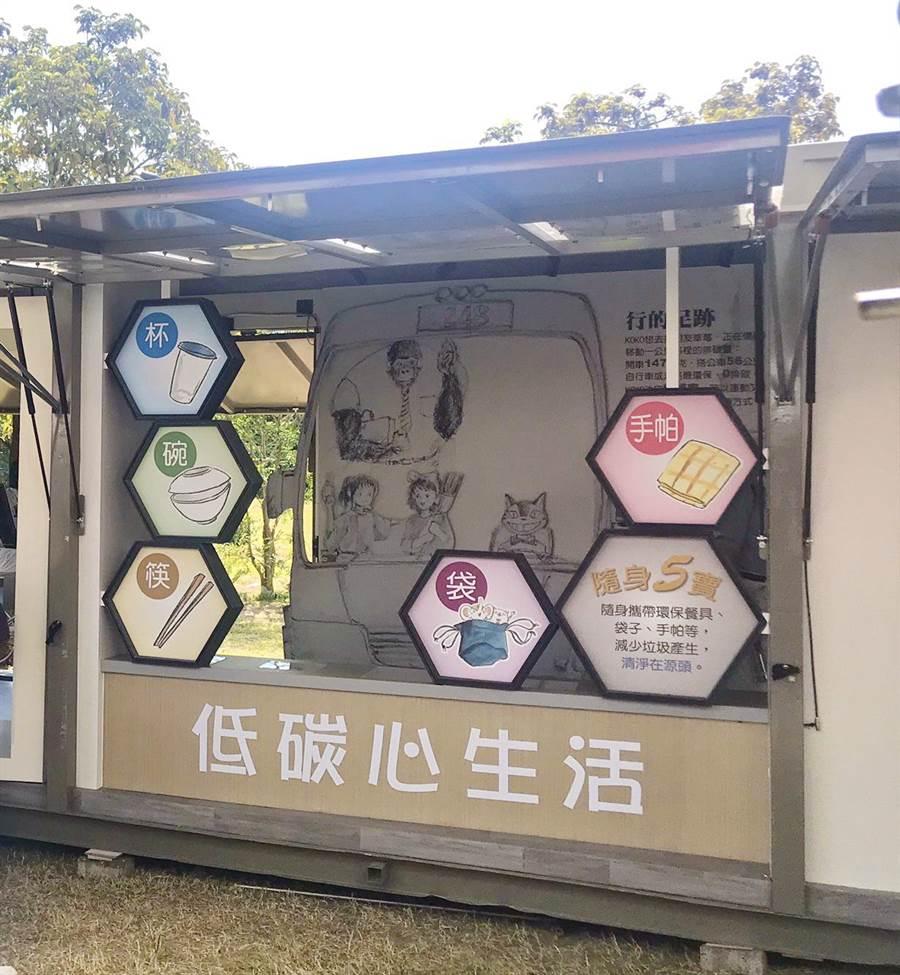 科學168活動即將登場,今年特別與大愛感恩科技合作,打造2台行動環保教育車。(嘉義市政府提供/呂妍庭嘉義傳真)