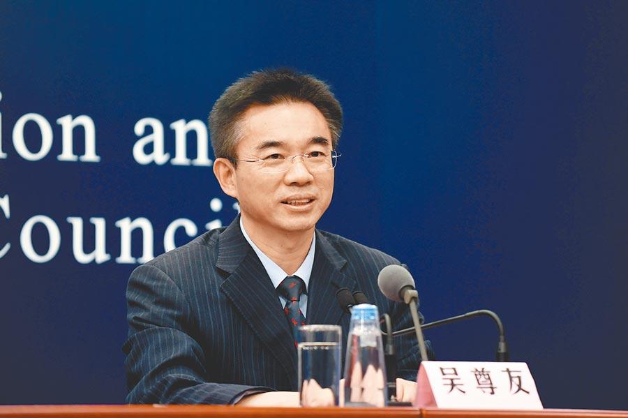大陸疾控中心流行病學首席專家吳尊友。(中新社資料照片)