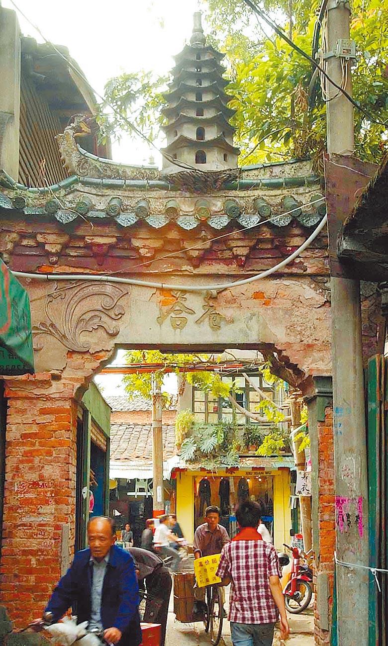 三坊七巷始建於西晉末年,唐代「安史之亂」以後,這裡逐漸成為以士大夫階層、文化人為主的居住街區。(新華社資料照片)
