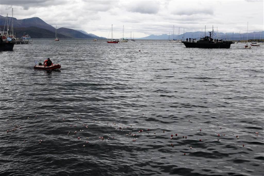 圖為阿根廷烏斯懷亞港口,近日傳出大量船員在海上35天竟神秘染疫。(資料照片 路透)
