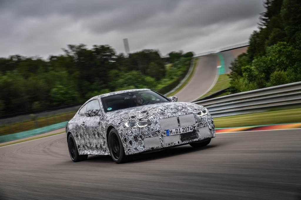 全新BMW M4標配6速手排 原廠賽道測試影片搶先看