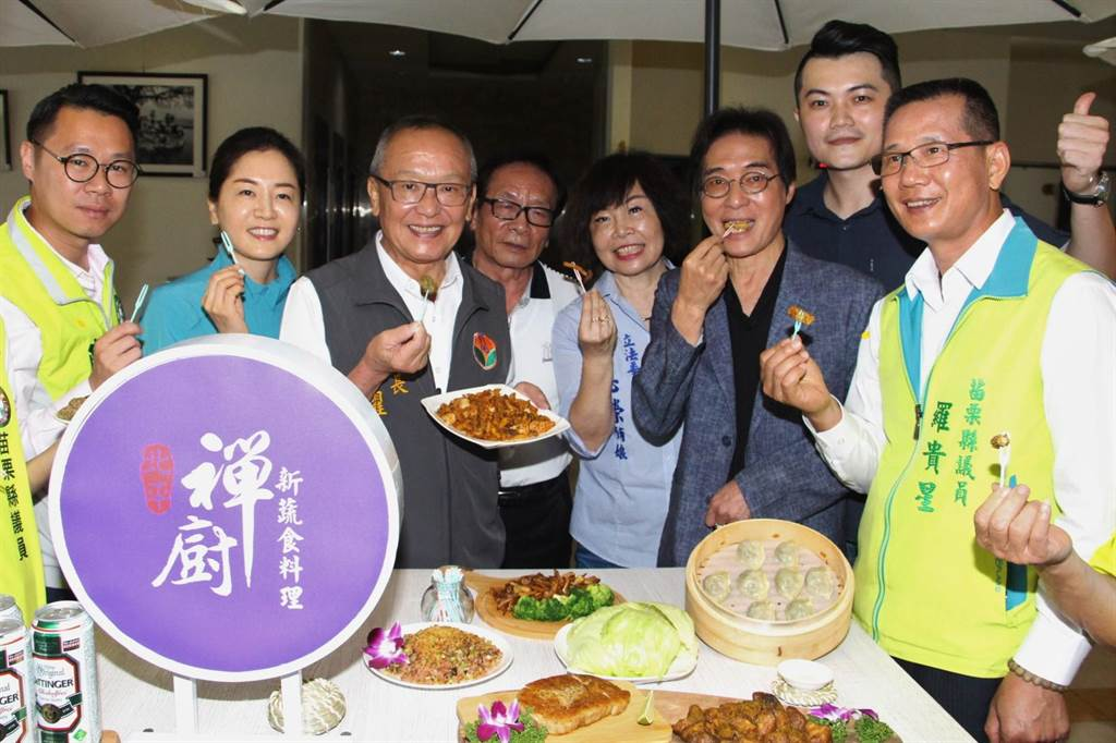 禪廚新蔬食餐廳推廣蔬食理念,串聯青農行銷在地美味,並研發創意料理,廣受好評。(何冠嫻攝)