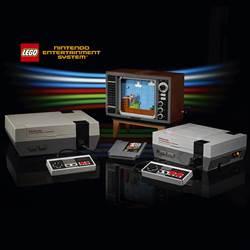 樂高x任天堂聯名第二彈 推出任天堂復古遊戲機LEGO NES