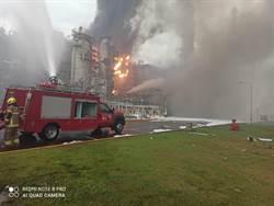 雲林麥寮六輕煉油廠爆炸起火 工人驚喊差點沒命