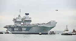牽制大陸 英新航母將開赴遠東