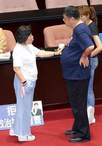 力挺陳雪生 葉毓蘭:綠委對我襲胸肘擊勒頸