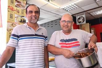 印、巴籍台灣女婿攜手 開賣鷹嘴豆咖哩飯