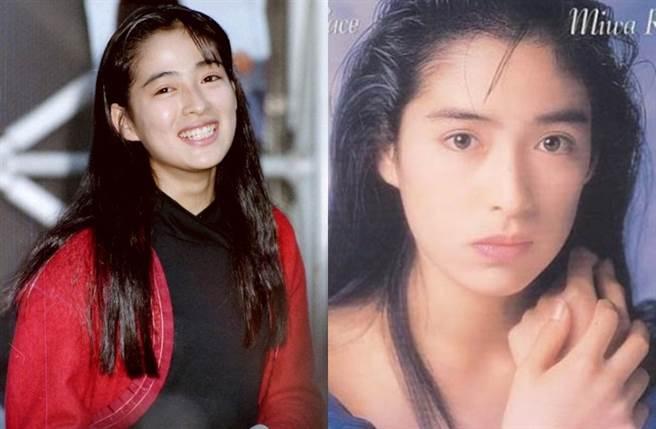 川越美和是90年代玉女偶像。(圖/翻攝自東網)