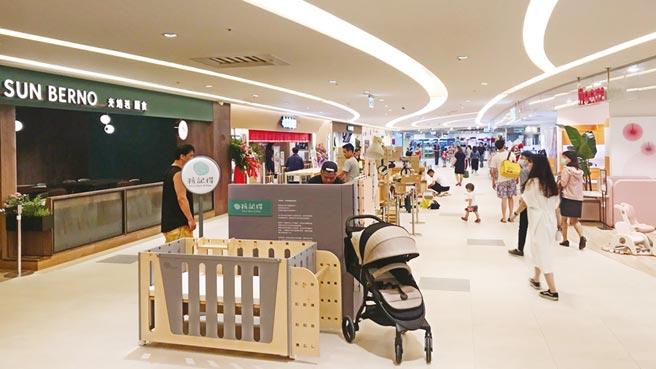 遠東巨城創藝大樓五樓擴大千坪15日開幕營運,估可帶動親子客層消費力成長。圖/巨城提供