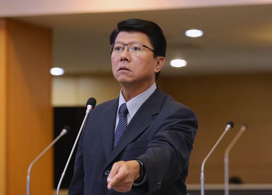 國民黨台南市議員謝龍介。(資料照片)