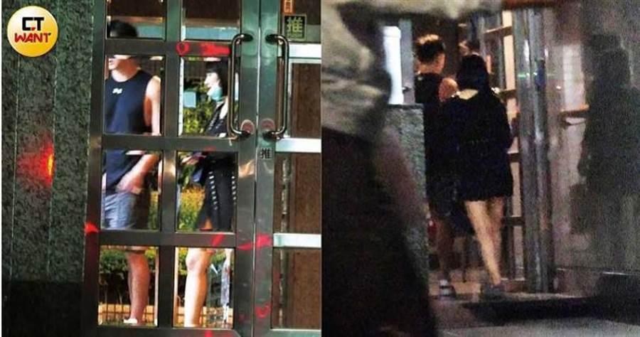 小煜和黑衣女兩人一前一後進入新家後,當晚就未見黑衣女出門。(圖/本刊攝影組)