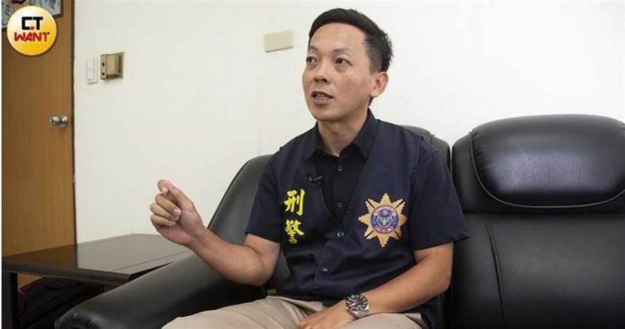 刑事局毒品查緝中心股長吳思翰表示會極力掃蕩毒品交易,呼籲民眾勿以身試法。(圖/黃威彬攝)