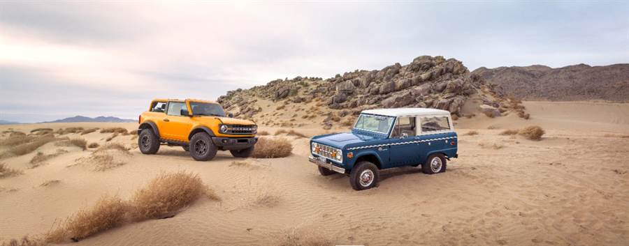 傳奇 55 年的純種「野馬」越野車重生,Ford 第六代 Bronco/入門兄弟 Bronco Sport 正式發表
