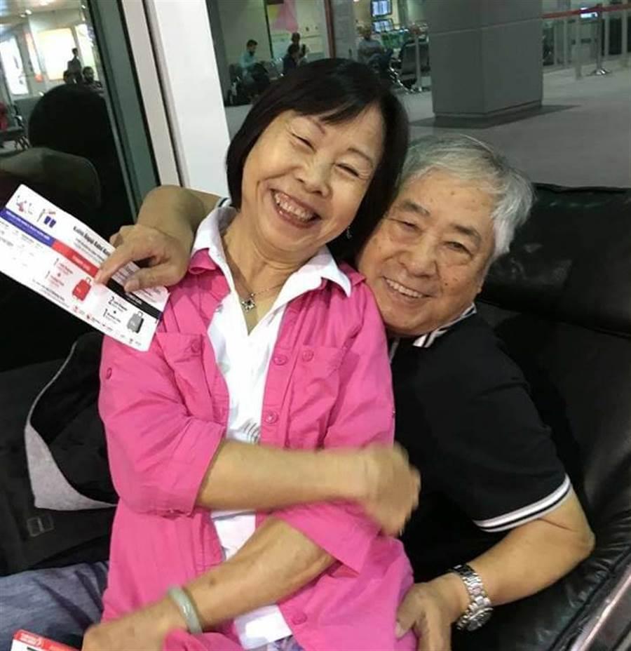 李富城過去時常在臉書分享與妻子的旅遊、生活照片。(照片/翻攝 李富城 臉書)