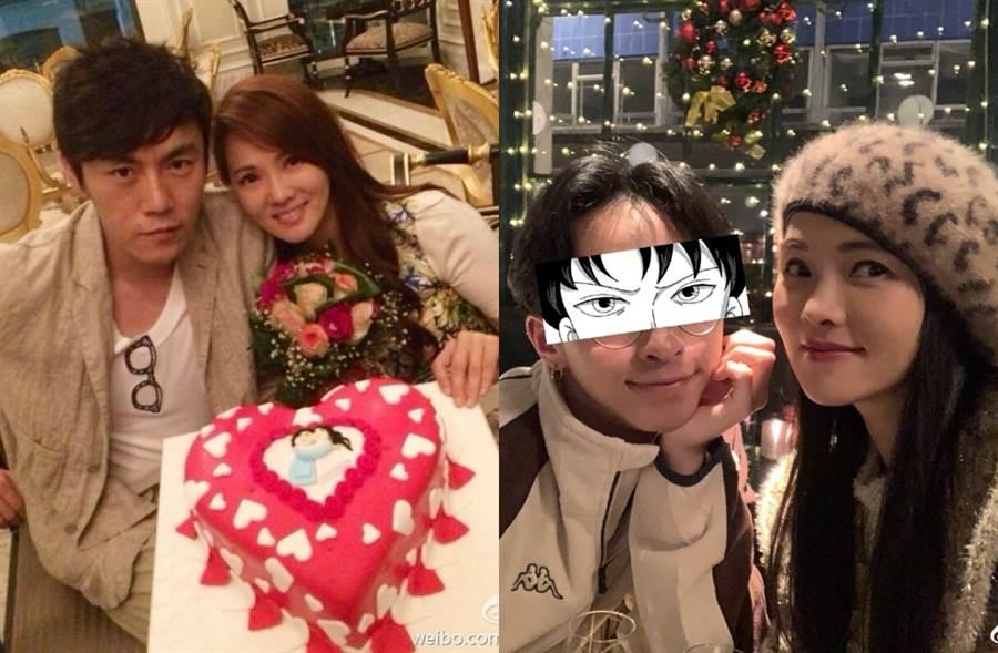 伊能靜5年前2婚嫁給秦昊。(圖/翻攝自伊能靜微博)
