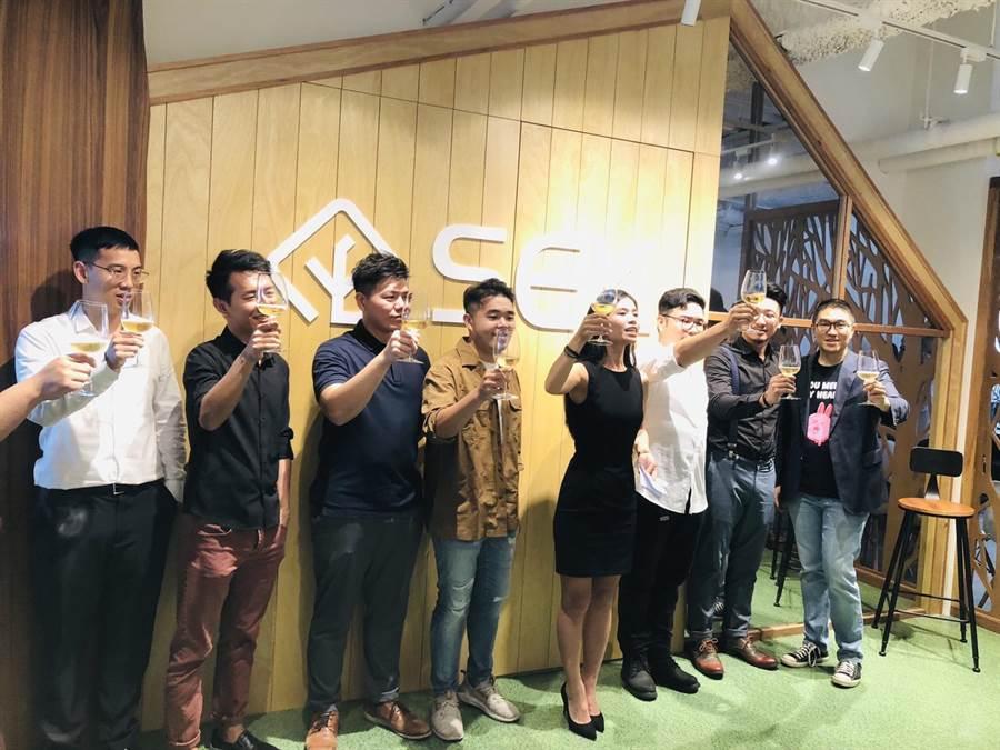 基隆首家共同工作空間「SEK基隆創業者空間」於7月15日正式開幕。(吳康瑋攝)