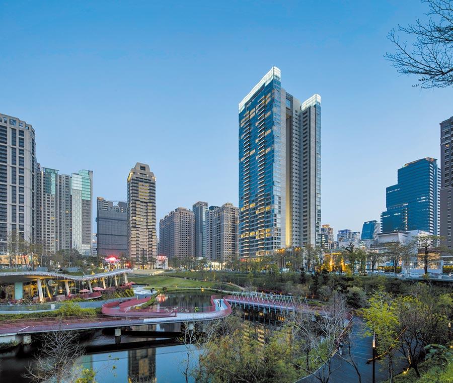 「寶輝秋紅谷」奪下台中十大豪宅單戶排行榜中前六名。圖/業者提供