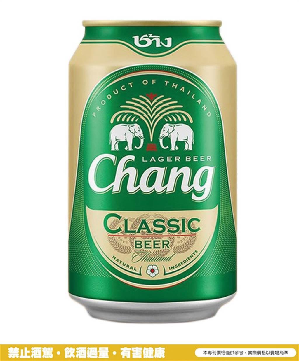 在泰國炙熱天氣與享受自然美景當下,最適合搭配美食的泰象啤酒(Chang Beer)(左圖/業者提供)