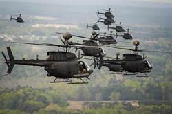OH-58D戰搜直升機 驍勇善戰的「奇歐瓦戰士」