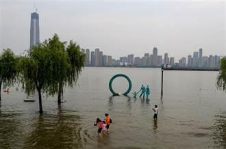傳黃浦江水位高過馬路?上海市防汛辦澄清:安全
