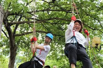 嘉義市科學168活動16日開幕 黃敏惠揪大家玩攀樹