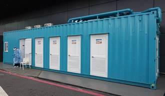 桃機貨櫃採檢屋設備啟用 採檢量與防護功能提昇