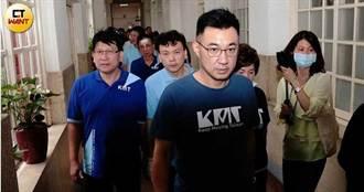藍委指控綠委代插多人表決卡 抗議立院院長開會宣告無效