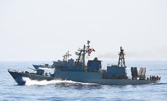 陸間諜船近海情蒐 我艦干擾監控