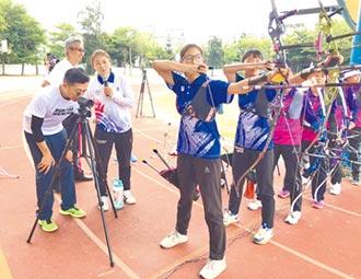 竹市射箭隊 有請奧運國手