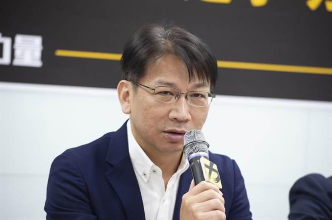 遭停權的時力黨主席徐永明。(時力黨部提供)