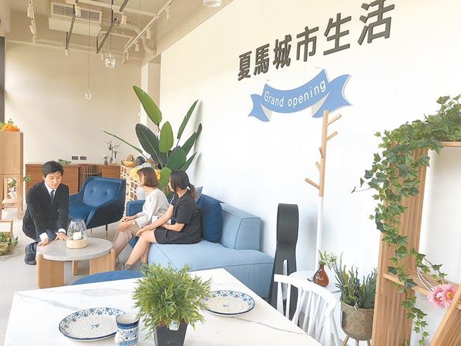 為了滿足消費者一站購足,「夏馬城市生活」台中旗艦總部成立了,產品豐富多元。圖/黃繡鳳