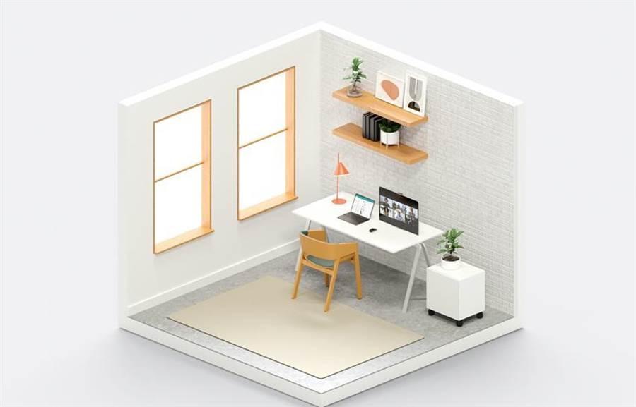 Zoom推Zoom For Home,提升遠距連接體驗和工作效率。(示意圖。圖/廠商提供)