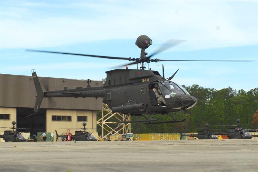 美國陸軍的OH-58D直升機,現已退役。(圖/美國陸軍)